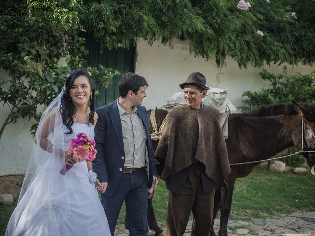 El matrimonio de Lucas y Yaneth en Villa de Leyva, Boyacá 39