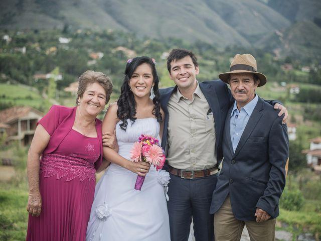 El matrimonio de Lucas y Yaneth en Villa de Leyva, Boyacá 43