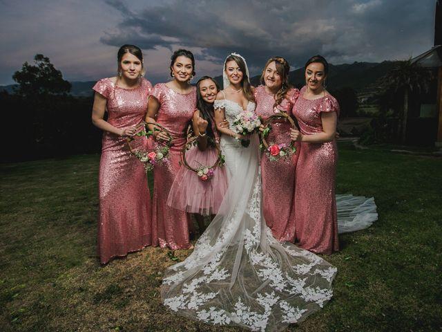 El matrimonio de Sandy y Yilmer en Subachoque, Cundinamarca 11