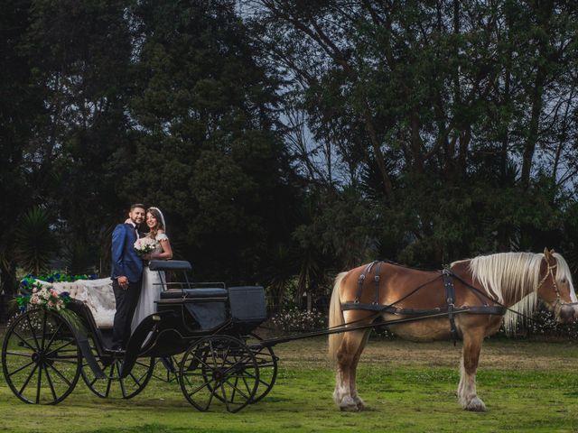 El matrimonio de Sandy y Yilmer en Subachoque, Cundinamarca 16