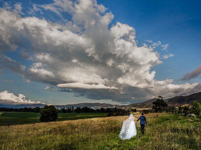 El matrimonio de Sandy y Yilmer en Subachoque, Cundinamarca 30