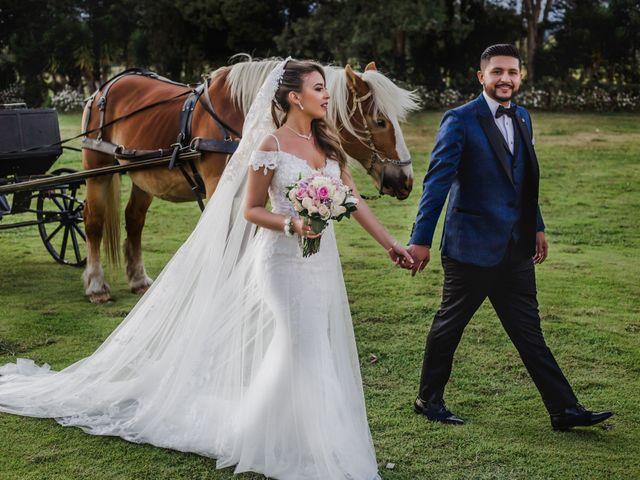 El matrimonio de Sandy y Yilmer en Subachoque, Cundinamarca 32