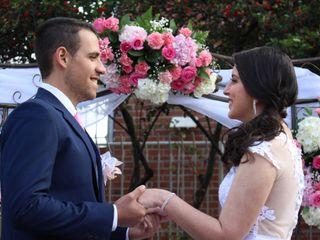 El matrimonio de Dalaura y Fabián