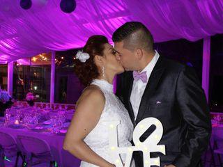 El matrimonio de Erika y Luis