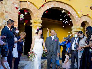 El matrimonio de Andrea y David