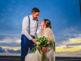 El matrimonio de Laura y Christ