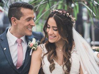 El matrimonio de Santiago y Natalia