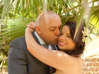 El matrimonio de Laura y Wilson