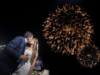 El matrimonio de Natalia y Benjamin