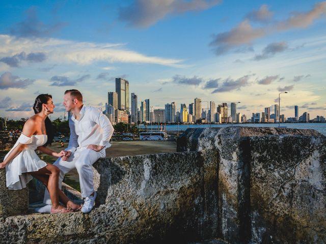 El matrimonio de Orestes y Andrea en Cartagena, Bolívar 10