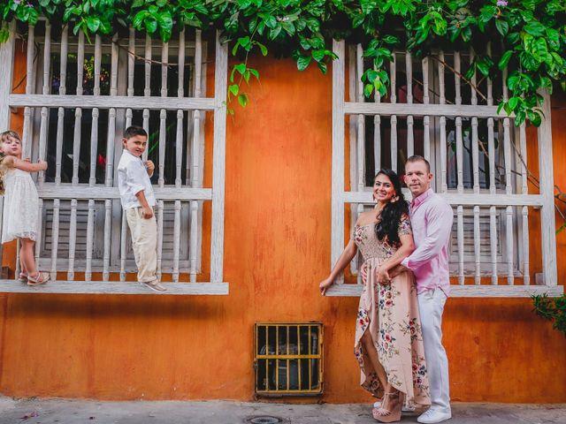 El matrimonio de Orestes y Andrea en Cartagena, Bolívar 16