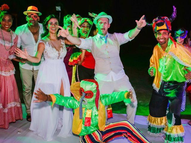 El matrimonio de Orestes y Andrea en Cartagena, Bolívar 50