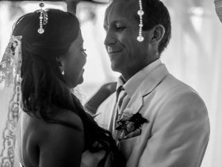 El matrimonio de Sandra y Landon 1