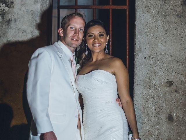 El matrimonio de Landon y Sandra en Cartagena, Bolívar 9