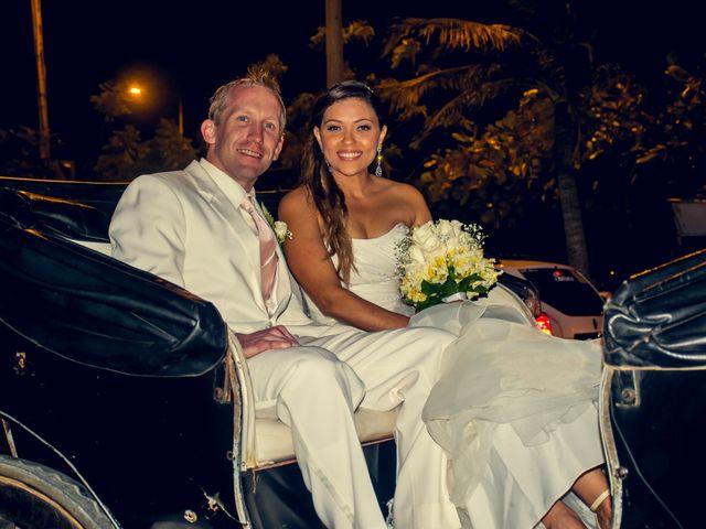 El matrimonio de Landon y Sandra en Cartagena, Bolívar 2