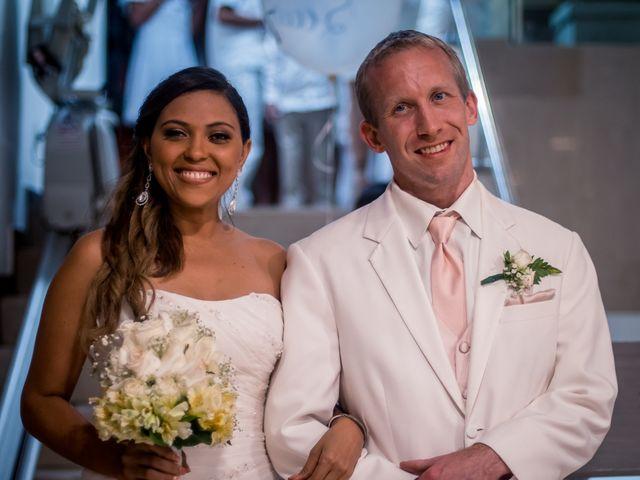 El matrimonio de Sandra y Landon