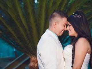 El matrimonio de Liseth y David