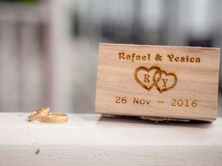 El matrimonio de Yesica y Rafael 1