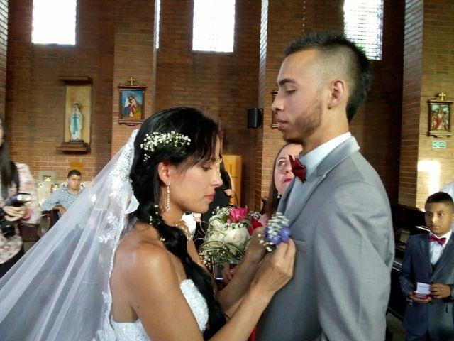 El matrimonio de Tatiana y Andres