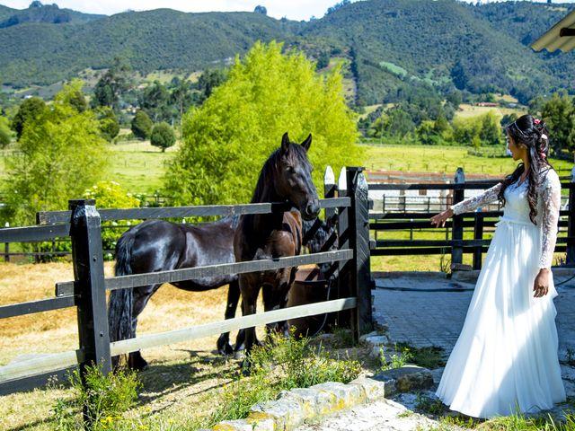 El matrimonio de Andrés y Nathaly en Subachoque, Cundinamarca 14