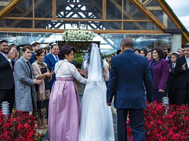 El matrimonio de Andrés y Nathaly en Subachoque, Cundinamarca 18