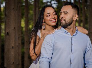 El matrimonio de Vanessa y Carlos 1