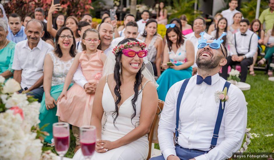 El matrimonio de Carlos y Vanessa en Cali, Valle del Cauca