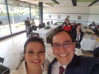 El matrimonio de Andrea y Robinson 1