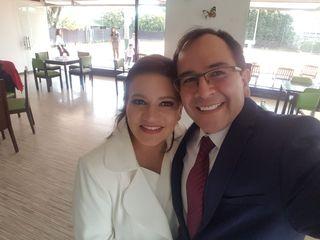 El matrimonio de Andrea y Robinson