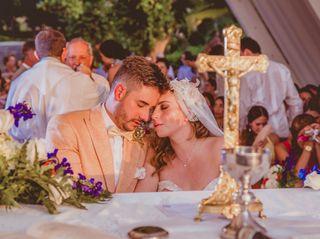 El matrimonio de Sara y Mario