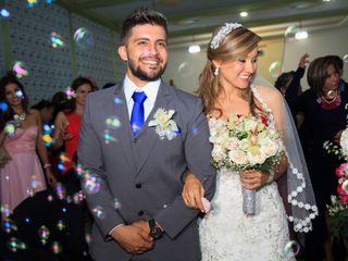 El matrimonio de Erika y Salus