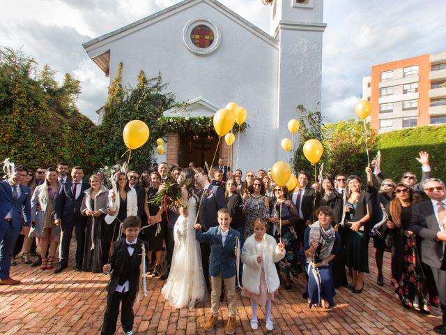 El matrimonio de Daniel y Andrea en Bogotá, Bogotá DC 19