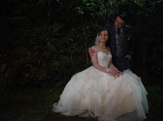 El matrimonio de Derly y Frank