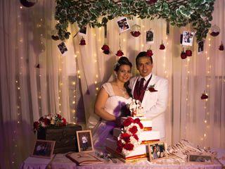 El matrimonio de Mónica y John