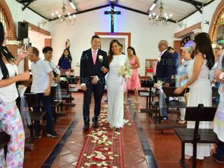 El matrimonio de María Inés y Diego Fernando