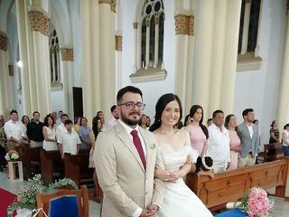 El matrimonio de Juan Alberto y Yuly Stepfany  2