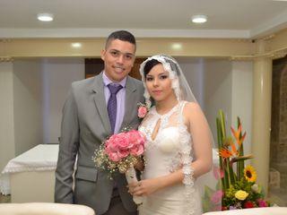 El matrimonio de Karolyne y andres