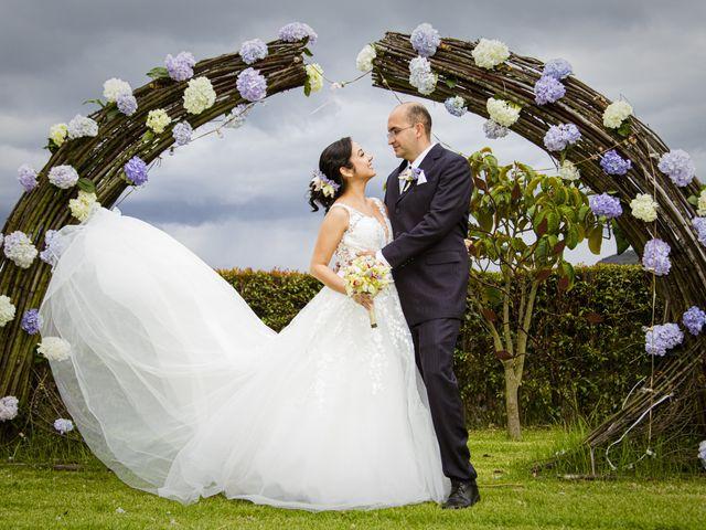 El matrimonio de Monica y Jaime