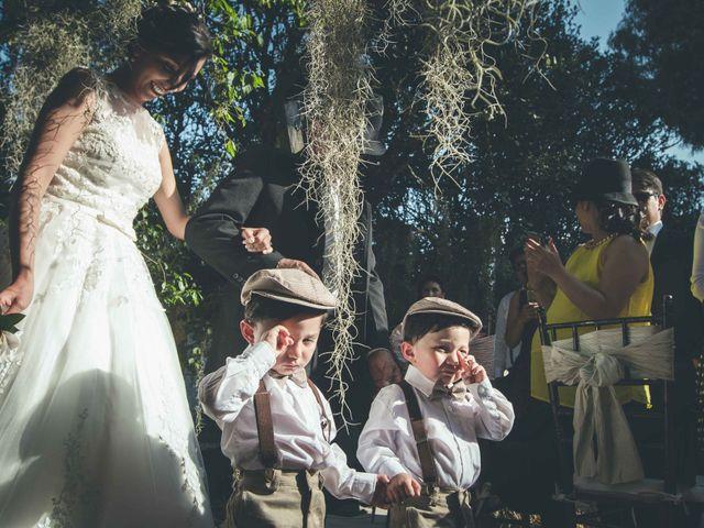 El matrimonio de Andres y Sandra en Chía, Cundinamarca 16