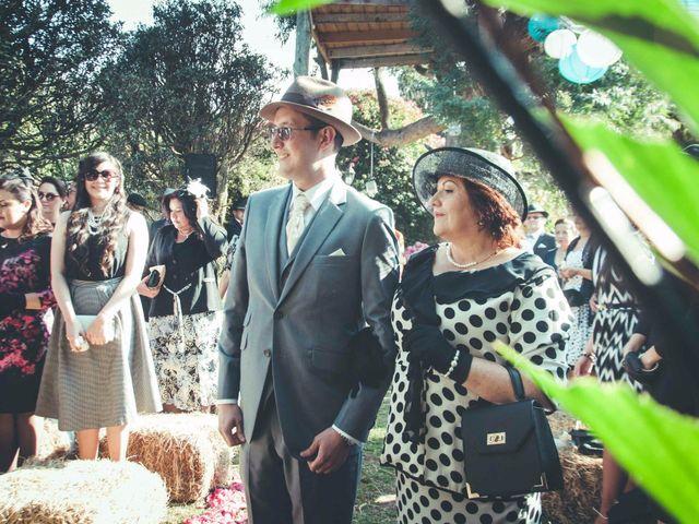 El matrimonio de Andres y Sandra en Chía, Cundinamarca 17