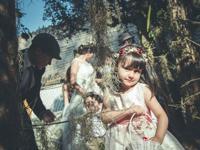 El matrimonio de Andres y Sandra en Chía, Cundinamarca 18