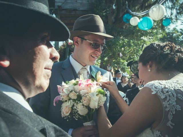 El matrimonio de Andres y Sandra en Chía, Cundinamarca 19