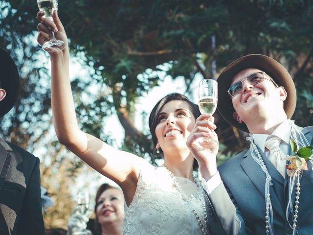 El matrimonio de Andres y Sandra en Chía, Cundinamarca 26