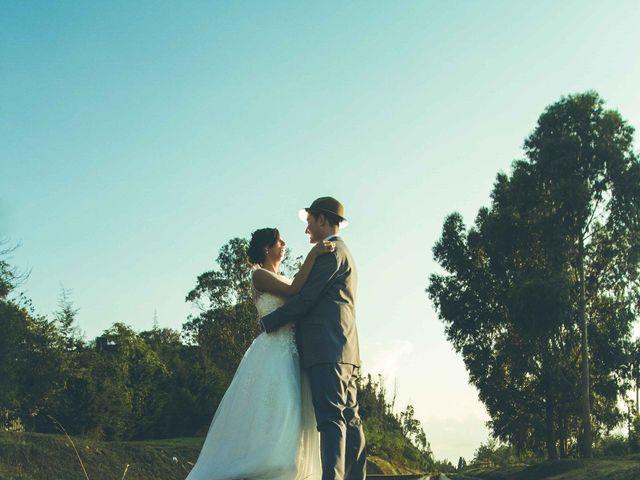 El matrimonio de Andres y Sandra en Chía, Cundinamarca 32