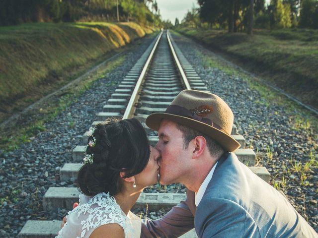 El matrimonio de Andres y Sandra en Chía, Cundinamarca 33