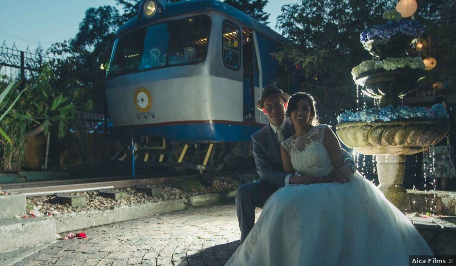 El matrimonio de Andres y Sandra en Chía, Cundinamarca