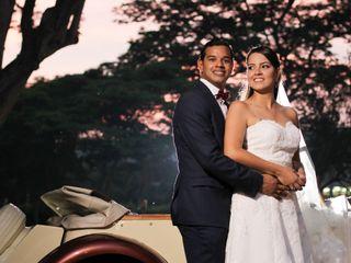 El matrimonio de Maria Lucia y Diego Mauricio
