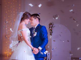 El matrimonio de Angelica y Roby