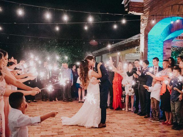 El matrimonio de Elizabeth y Esteban
