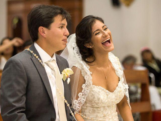 El matrimonio de Berenice y Luis Alejandro